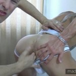 Extra-Hung Aggressive Top Marcos Breaks In Newcummer Titus' Eager Hole