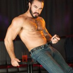 Muscled Hairy Stud Jessy Ares Takes Care Of Sam Barclay's Willing Ass