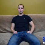 Handsome Manly Navy Man Chris Strokes His Huge Thick Dick