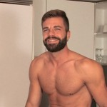 Hot Bearded Country Boy Hector Strokes His Big Stiff Cock
