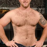 Beefy, Masculine & Hairy Straight Stud Blaze Gets His First Happy Ending Massage From A Dude