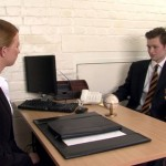 Young Straight Dude Tarquin Gets His Cock Inspected By Rita Barcliff At A Job Interview