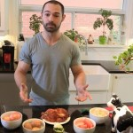 Naked Chef Alexandre Shows Off His Muscled Body & Strokes His Stiff Cock