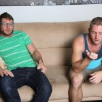 Burly Beefy Straight Dude Luke Ewing Fucks A Guy (Scott Riley) For The First Time