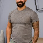 Handsome Hairy & Bearded Military Dude Freddy Rubs One Out