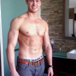 Handsome Muscular Straight Dude Chris Kohler Is Back
