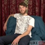 Handsome Bearded Tall Straight Dude Tommy Gets A Helping Hand For His Huge Thick Cock