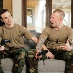 Horny Military Dude Damien Fucks His Army Buddy Brandon Hard & Deep