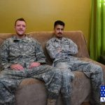 Straight Army Sergeant Randy & His Airman Buddy Paolo Experiment With Cock