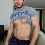 Hot Ripped Straight Dude James Nowak Shows Off
