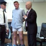 Arrogant Straight Dude Carl Gets His Balls & Cock Examined By Pervy Men