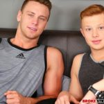Hunky Muscled Brandon Evans Barebacks Cute Zach Covington