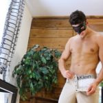Ripped Extra-Hung Stud Chriss Puts On A Show For His Horny Neighbor