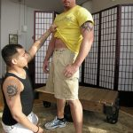 Blast From The Past – Hot Muscular Warehouse Foreman Nick Gets His Fat Cock Professionally Serviced