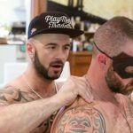 Hairy Mature Stud Channing Fully Serviced By Manuel Deboxer