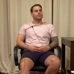 Sexy Beefy Tattooed Accountant Jason At His First Porn Audition