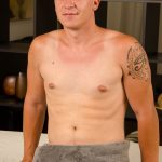 Handsome Straight Dude Thad Comes For A Happy Ending Massage