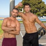 Handsome Ripped Dudes Daniel & Shaw Play Basketball & Then Fuck Each Other Hard & Raw