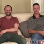 Hairy Sexy Straight Dudes Aaron & Hal Exchange Blowjobs