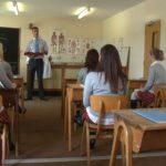 Horny Schoolgirls Seduce Their Hot Biology Teacher Mr. Douglas