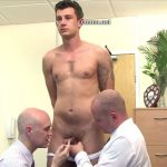 The Pervy Headmaster Thoroughly Inspects Hot Young Russian Jock Alex & His Misbehaved Hard Cock