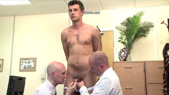 Gay military interrogation porn