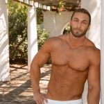 Big Muscular Straight Stud Dimitry Shows Off His Ripped Body & Strokes His Big Thick Cock