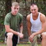 Hot Muscled Military Dudes Craig Cameron & Ryan Jordan Have Some Wild Fun Together