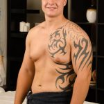 Big Beefy Straight Dude Jayson Gets His First Happy Ending Massage