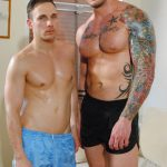 Big Muscular Bodybuilder Harley Everett Fucks Handsome Muscle Boy Jack Jefferson