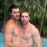 Hot Muscle Guys Adan Stefan & John Cruz Fucking Raw Outside