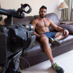 Hot Manly Brazilian Hunk Renato Strokes His Cock