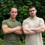 Hot Ripped Military Stud Mathias Pounds His Buddy Richard's Ass Hard & Raw
