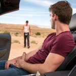 Handsome Hottie Dustin Holloway Gets Lucky With Stranger In Middle Of Desert