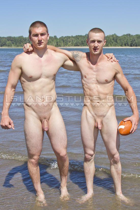 Nude football guys
