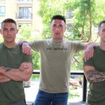 Three Hot Horny Soldiers Have Some Wild Raw Fun In The Armory
