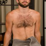 Handsome Hairy Straight Dude Barry Gets A Happy-Ending Massage