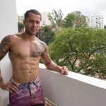Sexy Ripped Brazilian Straight Boy Jandro Strokes His Huge Fat Cock
