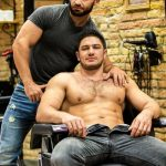 Dato Foland & His Hot Hairdresser Francois Sagat Fucking Hard
