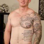 Handsome Beefy Marine Doug Strokes His 7-Inch Hard Dick