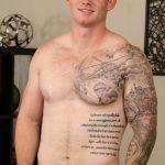 Handsome Beefy Marine Doug Strokes His 7-Inch Hard Dick