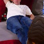 Hot Horny Cowboy Marine Hoyt Strokes His 8-Inch Stiff Dick & Fucks Fleshjack