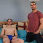 Three Muscular & Hung Straight Lads Experiment With Cock