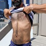Hairy Beefy Spaniard Bastien Passiff Poses Naked & Shoots A Nice Load