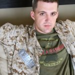 Young Straight Marine Cal Gets His Huge Fat Dick Professionally Serviced