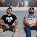 Real-Life Buddies Dustin Steele & Jay Fucking Hard