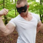 Hot Forest Jerkoff With Ripped Bodybuilder Zahn
