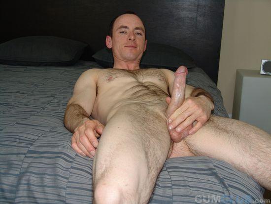 Handsome Butt Buddy Patrick Jacks Off His Fat Schlong