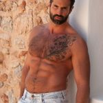 Tall, Hairy & Burly Daddy Dani Robles Shows Off His Gorgeous Body In Nature