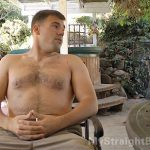 Naked Beefy Military Guy Jake & Mutual Jerkoff With Straight Buddy Stoner Scott